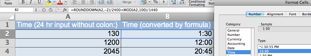 Time Conversion – How to convert 24hr input as 4-digit
