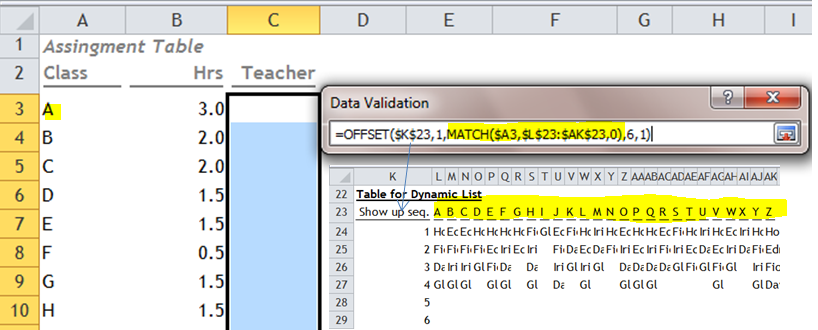 Dynamic Dependent Dropdown by Data Validation | wmfexcel