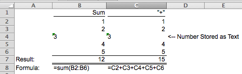 Excel Tips - Sum 7