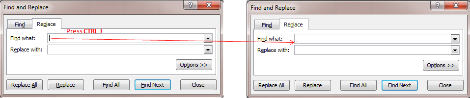 how to copy from pdf to word without line breaks