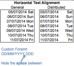 Excel Tips - Text Alignment Distributed  3