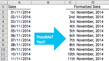 Excel Tips - Date Format 6