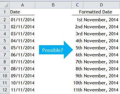 Excel Tips - Date Format
