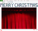 Excel Tips - Christmas Greetings 1