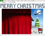 Excel Tips - Christmas Greetings 2