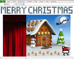 Excel Tips - Christmas Greetings 3