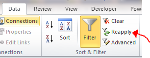 Excel Tips - Filter vs. Hidden 7.1