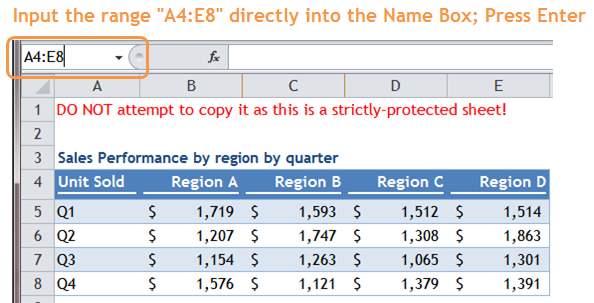 Excel Tips - Copy from stickly-protected sheet 2