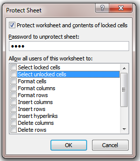 Excel Tips - Copy from stickly-protected sheet