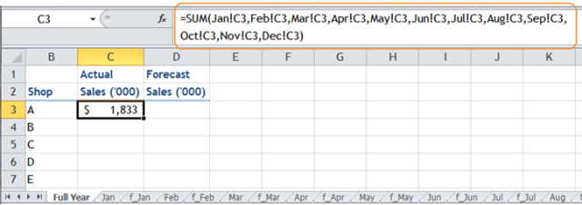 Excel Tips - Using Wildcard in referencing cell on other sheets 7