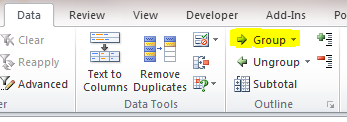Excel Tips - Dynamic Hint for showing or hiding hidden rows 3
