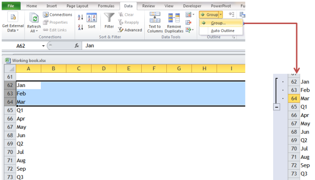 Excel Tips - F4 (repeat last action)2