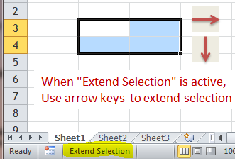 Excel Tips - F8 (2)