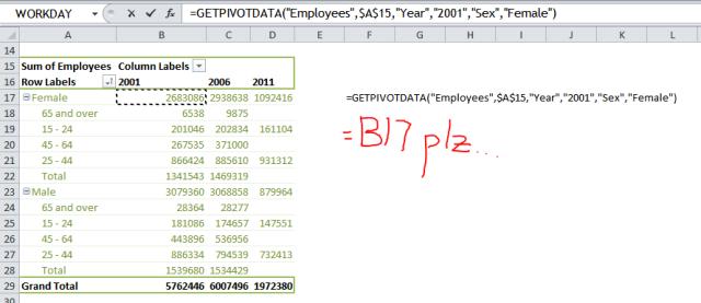 Excel Tips - GetPivotData 0