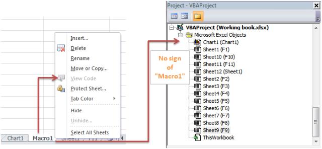 Excel Tips - Ctrl F11
