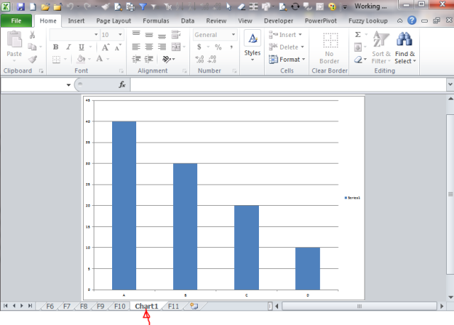 Excel Tips - F11