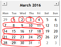 Excel Tips - Calculate Xday in a period 1.1.PNG