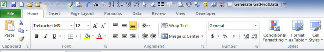 Excel Tips - Copy Ribbon and QAT