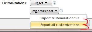 Excel Tips - Copy Ribbon and QAT2