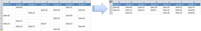 Excel Tips - Move cells with data to the top 0.JPG