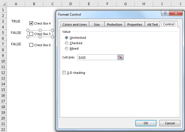 Excel Tips - Form Controls Checkbox.PNG