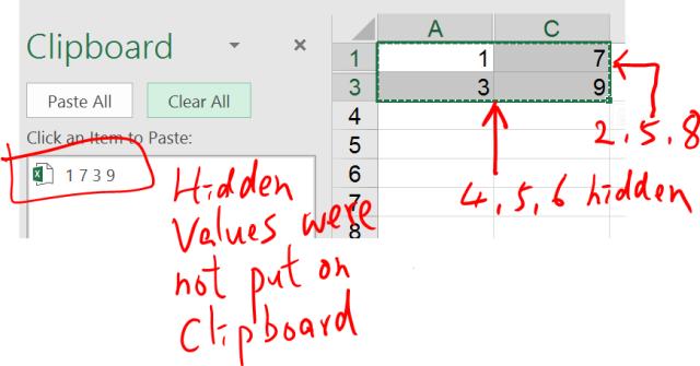 Excel Tip - Clipboard 9