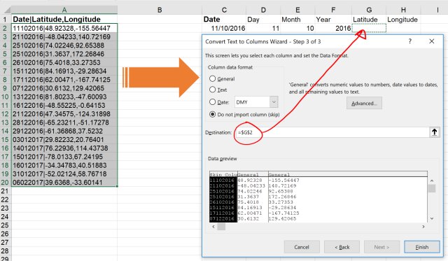 Exce Tip - Text to Columns_Delimited 2.1