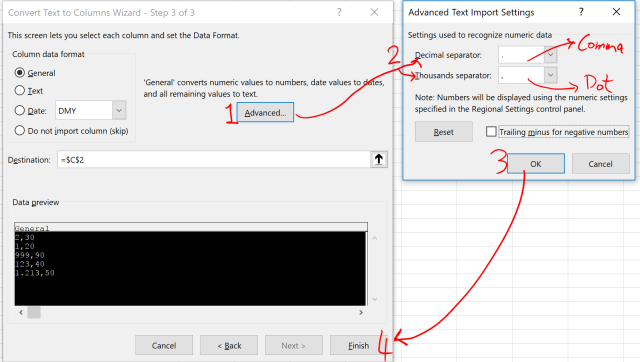 Exce Tip - Text to Columns_Delimited 6