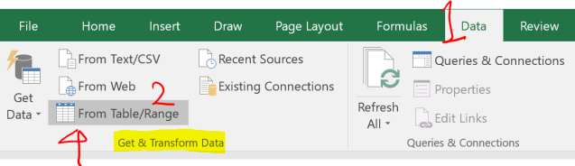 Excel Tips - Date format from text to number with PQ 1