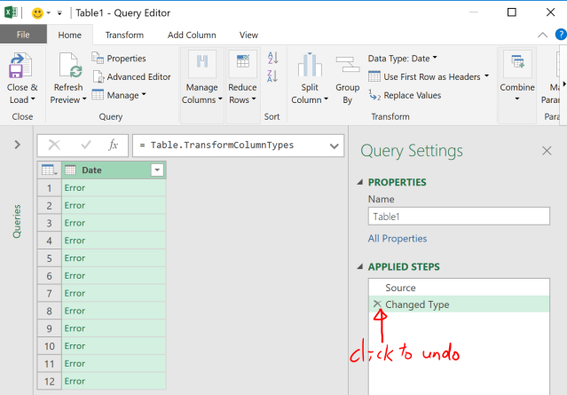 Excel Tips - Date format from text to number with PQ 2.2