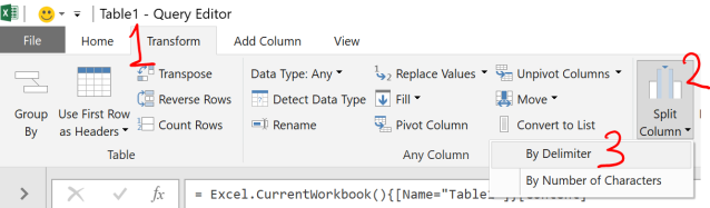 Excel Tips - Date format from text to number with PQ 3