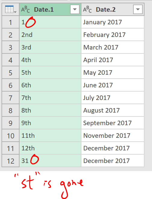 Excel Tips - Date format from text to number with PQ 5.2