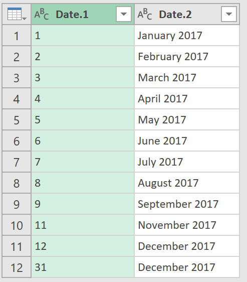 Excel Tips - Date format from text to number with PQ 5.4