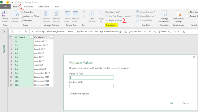 Excel Tips - Date format from text to number with PQ 5