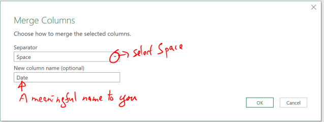Excel Tips - Date format from text to number with PQ 6.1