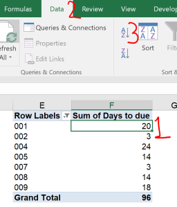 Excel tip - due date 11