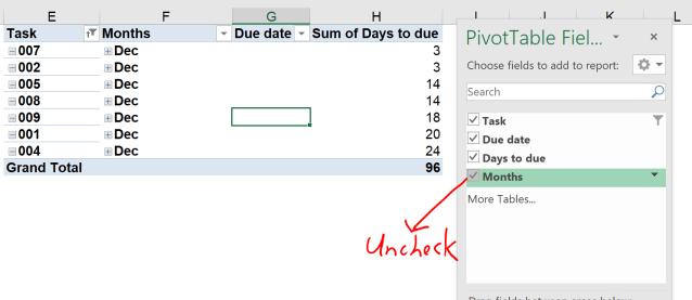 Excel tip - due date 16