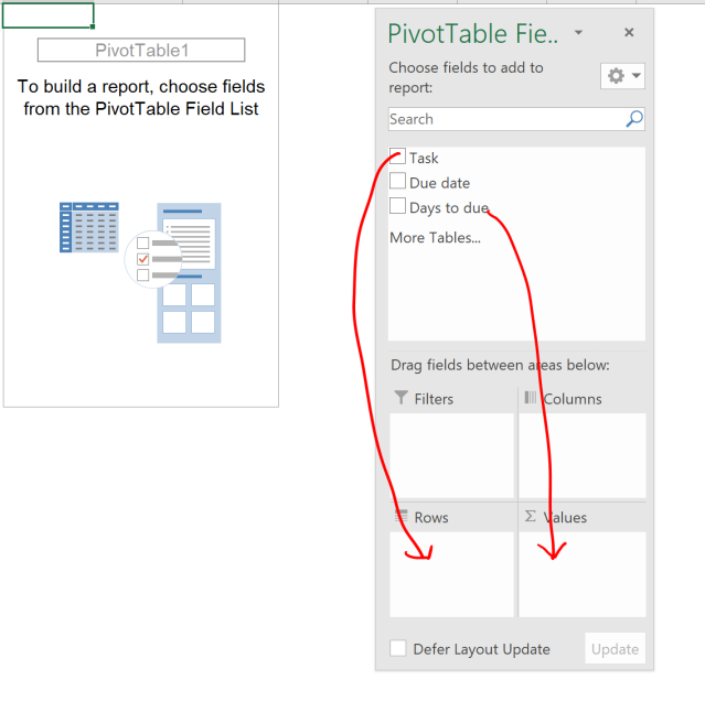 Excel tip - due date 7
