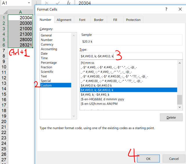 Excel Tip - Excel Format with Conditions 1