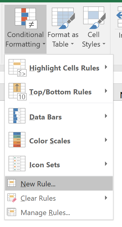 Excel Tip - Excel Format with Conditions 3