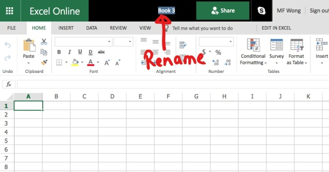 Excel Tips - Online Survey2