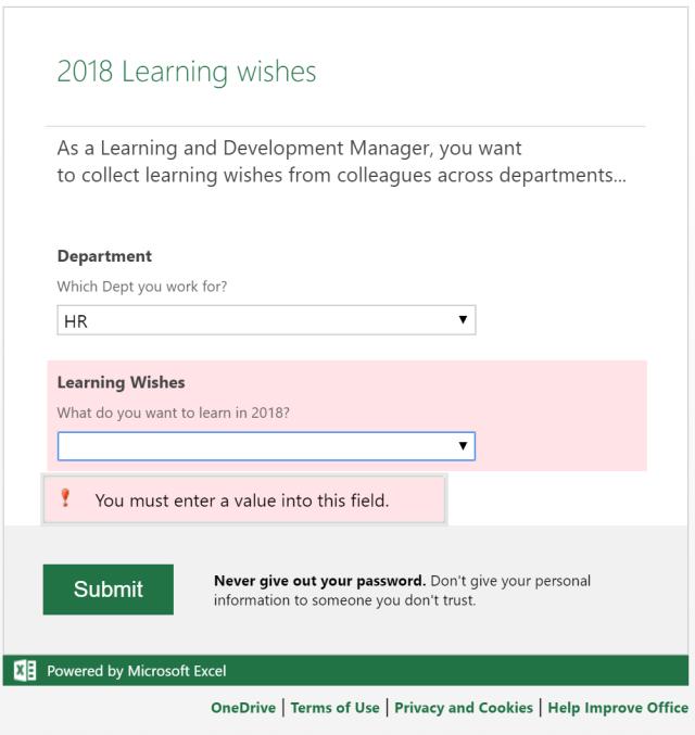 Excel Tips - Online Survey8