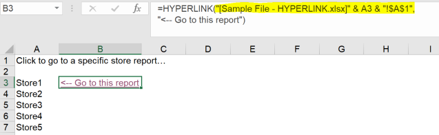 Excel Tips - Hyperlink3