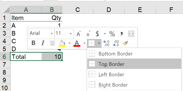 Excel Tip - Hide and Seek Cell Border6.PNG