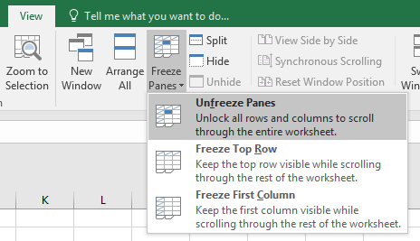 Excel Tip - unhide column A (final)