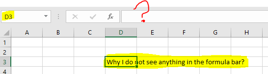 Excel Tips - Hide and Seek Cell Content3
