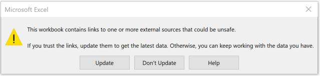 Hide and Seek – External Links in #Excel | wmfexcel