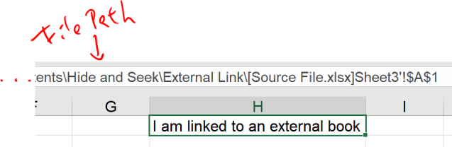 Excel Tip - Hide and Seek External Links2.1
