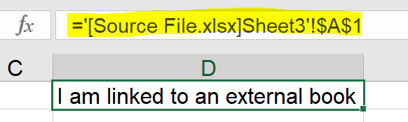 Excel Tip - Hide and Seek External Links2