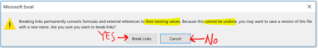 Excel Tip - Hide and Seek External Links4.1